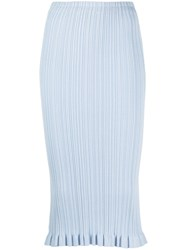 Acne Studios Textured Fitted Pencil Skirt 60