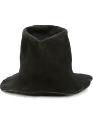 Reinhard Plank Raw Cut Felt Top Hat