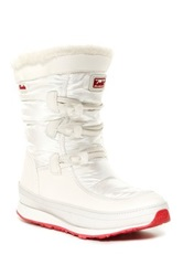 Keds Powderpuff Faux Fur Lined Waterproof Winter Boot White