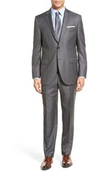 Men's Peter Millar Classic Fit Solid Wool Suit