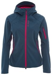 Vaude Ducan Soft Shell Jacket Baltic Sea Dark Blue