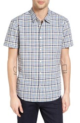 John Varvatos Men's Collection Mayfield Slim Fit Plaid Sport Shirt