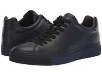 Rag And Bone Rb1 Low Top Sneakers Salute Combo Lace Up Casual Shoes Black