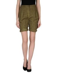 Gold Case Bermudas Military Green