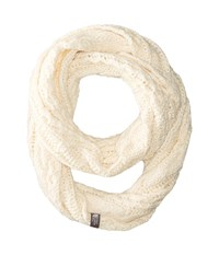 The North Face Cable Minna Scarf Vintage White Scarves Beige