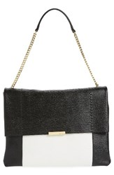 Ted Baker London Phellia Pebbled Leather Shoulder Bag Black Jet