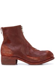 Guidi Distressed Ankle Boots 60