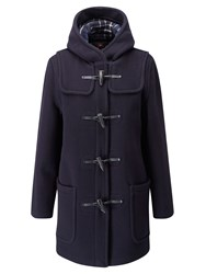 Gloverall Mid Length Original Fit Duffle Coat Navy