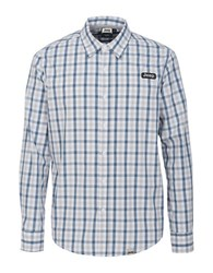 Jeep Checked Sportshirt Grey
