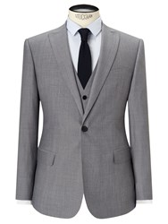 John Lewis Kin By Hassett Tonic Slim Fit Suit Jacket Light Grey