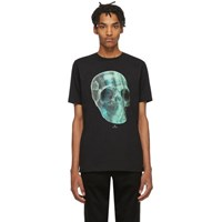 Paul Smith Ps By Black Crystal Skull T Shirt
