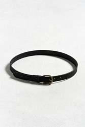 Urban Outfitters Uo Faux Suede Belt Black