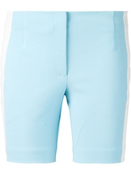 Viktor And Rolf Colour Block Shorts Blue