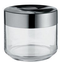 Alessi Julieta Kitchen Box Black Clear