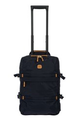 Bric's Montagna Wheeled Carry On Blue