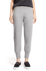 Nordstrom Wool And Cashmere Blend Knit Pants Grey Filigree Heather