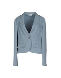List Suits And Jackets Blazers Women Pastel Blue