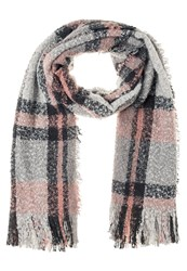 S.Oliver Scarf Grey Black Check