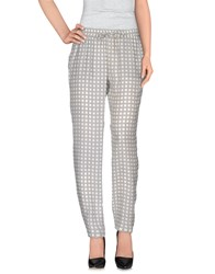 Ekle' Trousers Casual Trousers Women Ivory