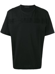 Diesel Black Gold Cut Out Detail T Shirt Black