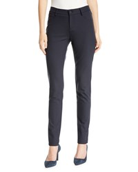 Lafayette 148 New York Mercer Acclaimed Stretch Mid Rise Skinny Jeans Black