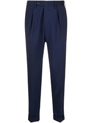 Barba Cropped Tailored Trousers 60