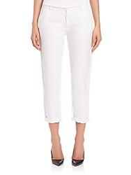 Ag Jeans Tristan Tailored Trousers White