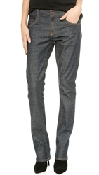 6397 Mini Boot Cut Jeans Selvage Rinse