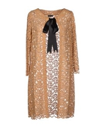 Charlott Full Length Jackets Camel