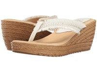 Sbicca Vilana White Women's Shoes