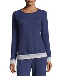 Cosabella Cortina Lace Trimmed Lounge Top