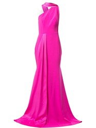 Alex Perry Hollis One Shoulder Gown Pink