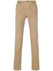 Incotex Regular Trousers Nude And Neutrals