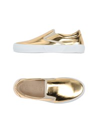 Pause Footwear Low Tops And Trainers Women Gold