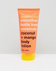 Anatomicals Smoother Butts Love Coconut Body Lotion 200Ml Clear