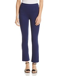 Tory Burch Stacey Flare Ankle Pants Navy Sea
