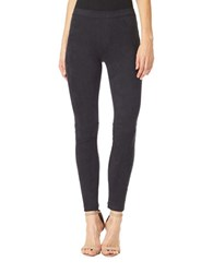 Sanctuary Skinny Fit Suede Leggings Black
