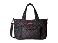 Marc By Marc Jacobs Crosby Quilt Nylon Printed Fruit Elizababy Cherry Print Handbags Red