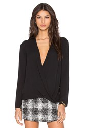 Bcbgeneration Crossover Top Black