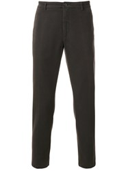 Department 5 Classic Chino Trousers Cotton Spandex Elastane Brown