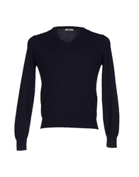 J For James Sweaters Dark Blue