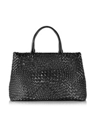 Ghibli Woven Leather Tote