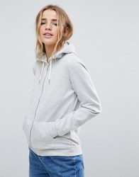 Pimkie Zip Up Hoodie Grey