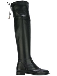 Anna Baiguera 'Cuissarde Eco' Boots Black