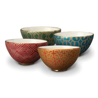 L'objet Fortuny Cereal Bowls Set Of 4 Assortment