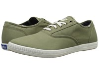 Keds Champion Army Twill Cvo Olive Men's Lace Up Casual Shoes