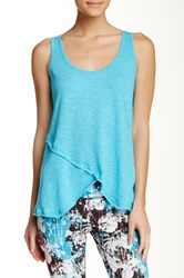 Steve Madden Sleeveless Wrap Tank Green