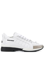 Dsquared2 551 Low Top Sneakers White