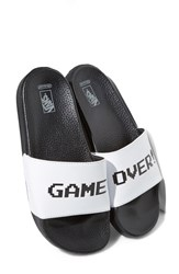 Vans Women's X Nintendo 'Game Over' Slide Sandal