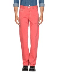 Harmont And Blaine Casual Pants Red